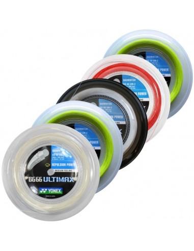 Cordage de badminton Yonex BG66 Ultimax