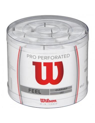 60 Wilson Pro Overgrip Geperforeerde...