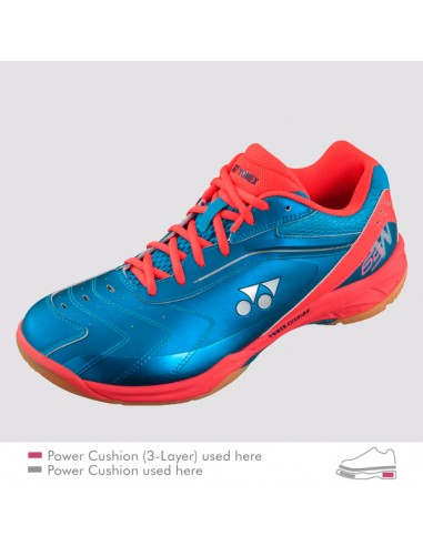 YONEX POWER CUSHION 65 WIDE BLUE 2017