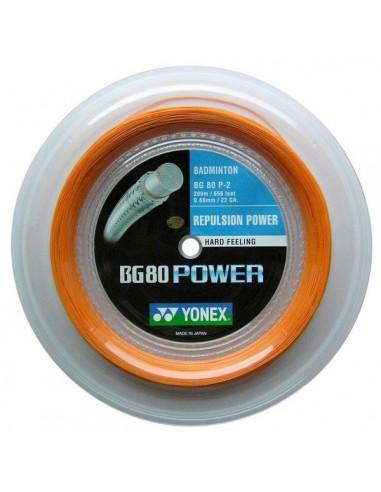 Cordage de badminton Yonex BG80 Power