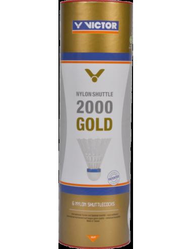 VICTOR NYLON 2000 GOLD WHITE
