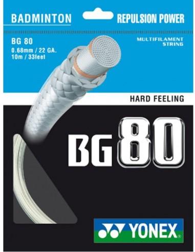 CORDAGE DE BADMINTON YONEX SET BG80