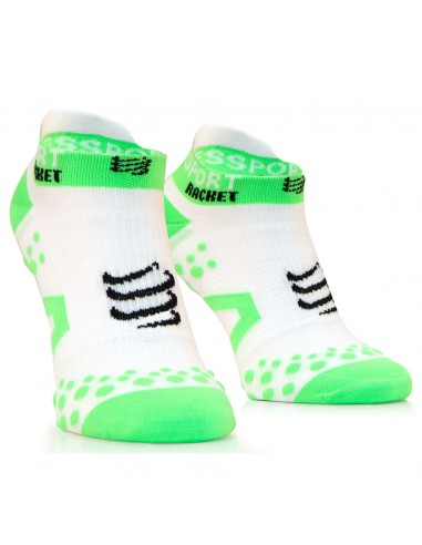 COMPRESSPORT STRAPPING DOUBLE LAYER SOCKS LOW CUT WHITE