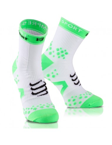 COMPRESSPORT STRAPPING DOUBLE LAYER SOCKS WHITE