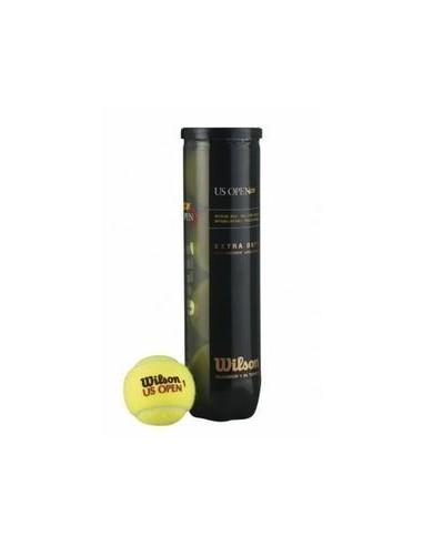 Balles de tennis Wilson US Open (tube...
