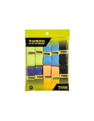 BADMINTON TAAN SURGRIP X10 (10 PIECES)