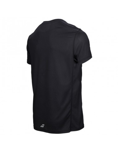 BABOLAT TEE-SHIRT FLAG CORE MEN NOIR