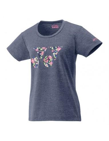 Yonex 16365 Dames-T-shirt zwart