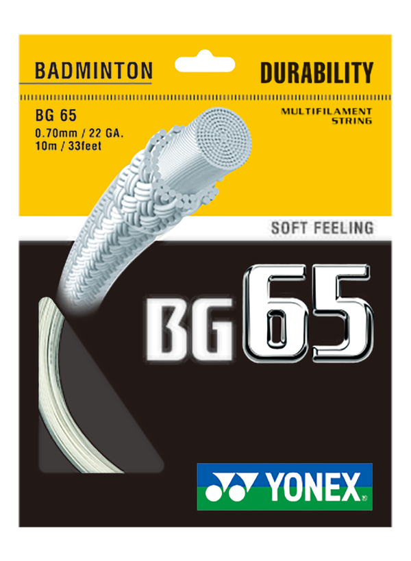 Yonex BG65 Orange - 0.70 mm